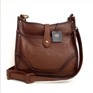 FRYE Leather Madison Crossbody